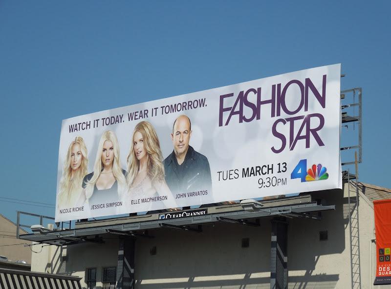 Fashion Star billboard