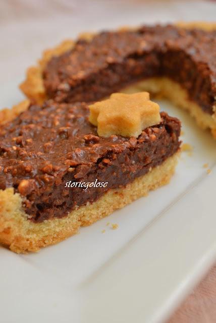 crostatine al riso soffiato e cioccolato