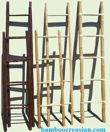 8 39 bamboo poles 2 39 39 dia real hard solid max thick wall 4 - Decorative ladder for bathroom ...