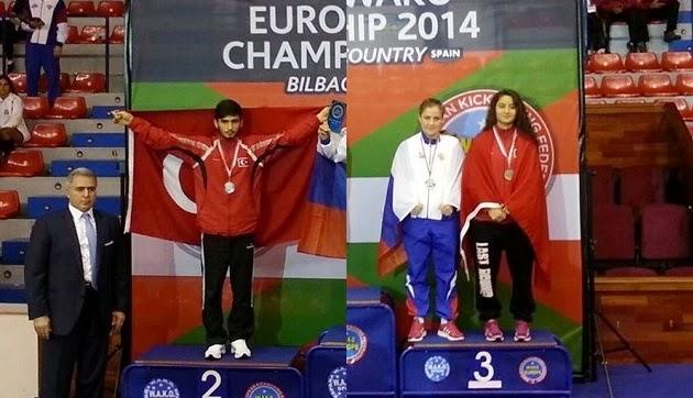 Avrupa Şampiyonası'nda çifte madalya