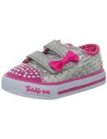 twinkle toes pink kids shoe