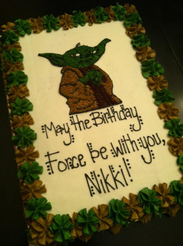 Sweet Treats by Susan May the Birthday Force Be with You