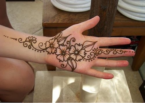 Mehndi Design For Hands Easy Mehndi Designs For Beginners Step By Step