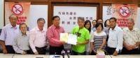 董总欢迎绿色盛会主席黄德支持百万签名运动