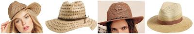 August Hats Desert Straw Hat $25.20 (regular $36.00)  Roxy Cowgirl Straw Hat $27.95  Free People Twisted Rope Straw Hat $29.95 (regular $38.00)  T+C by Theodora & Callum Dip Dye Straw Panama Hat $42.00