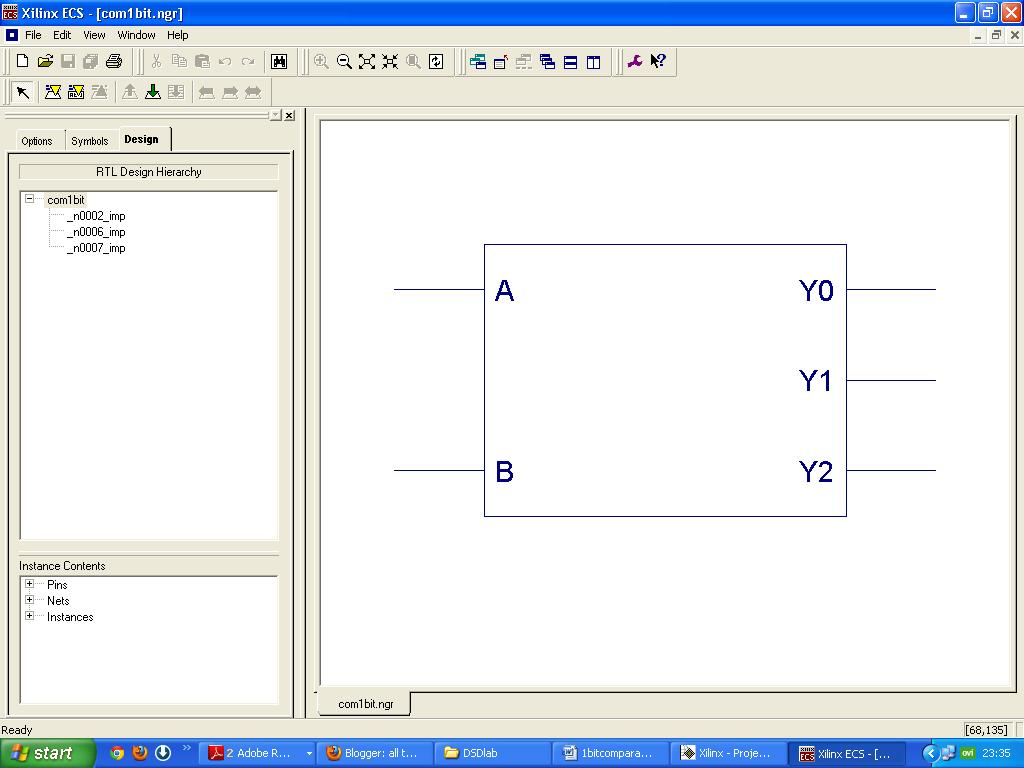All Thats Buzzing Vhdl Program Coding For 1 Bit Comparator Circuit Diagram Of 4 Level 2 Xilinx Output Logic Gate