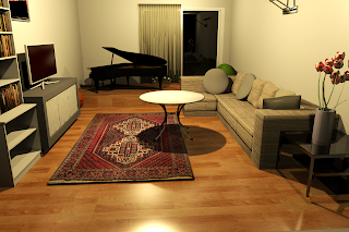 Realistic Living Room 2