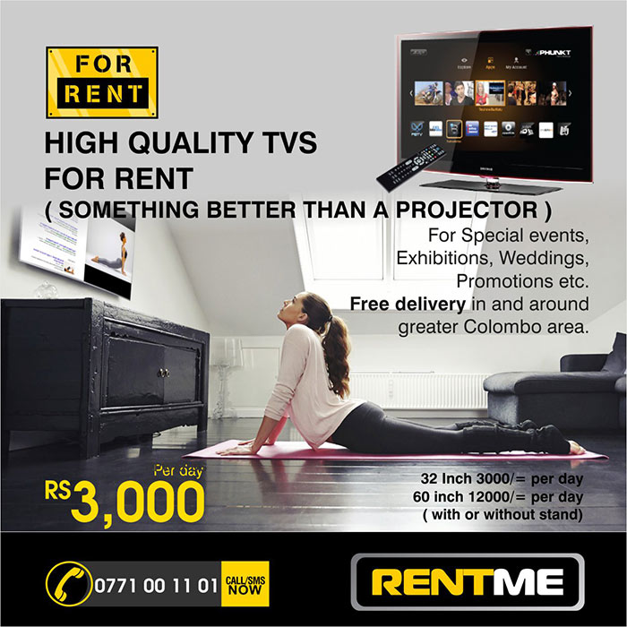 RENTME is for corporate events, seminars, launches, wedding and promotional activities. We have wide range of latest very Multimedia equipments including multimedia projectors, Laptops, Personal Computers, LED TVs, Screens etc. Also we have wide range of office equipments including Photocopiers, Color Printers, Laser Fax machines etc for rent. We can rent event promotional equipments like Pop-up Stand, X-Stand, Backdrops etc.  Contact us for Short term and Long term rentals.