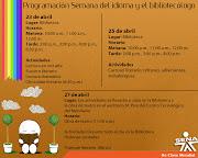 AFICHE DIA DEL IDIOMA. Publicado por Jairo Jimenez Sanchez en 18:00 jimenez afiche dia del idioma