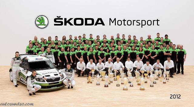 SKODA die erfolgreichste Marke der IRC-Geschichte