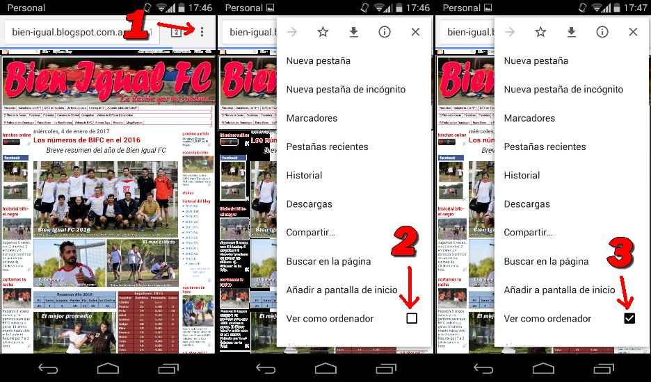 Como ver el blog desde el celular sin problemas