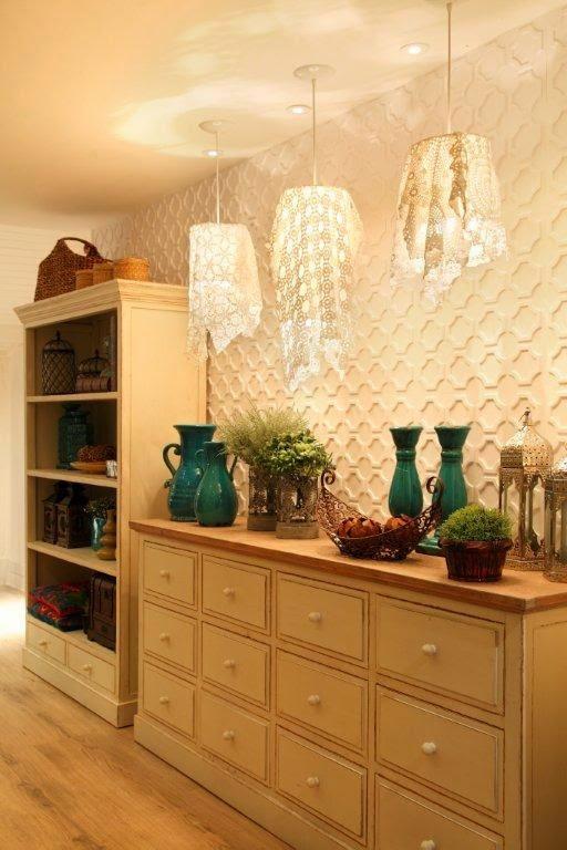Colorindo com estilo paredes revestidas com placas de pvc for Placas de pvc para paredes
