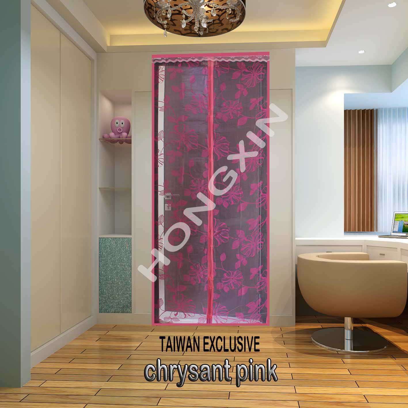 tirai magnet hong xin crysant pink herbal plaza