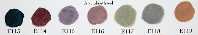 Ellis Faas creamy eyes eyeshadow swatches E113 E114 E115 E116 E117 E118 E119