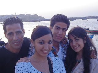 Amigos en Rabat. Julio 2011