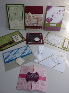 Stampin Up! Convention - Melbourne 2011 - Simple Cards