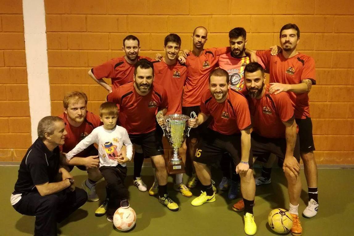 CAMPEÃO da Liga Power Futsal 2016/17