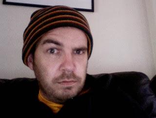 Man with raised eyebrow.