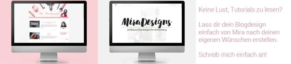 Lass dir dein Blogdesign von mir gestalten!