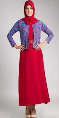 Dress Muslim Trendy dan Modern