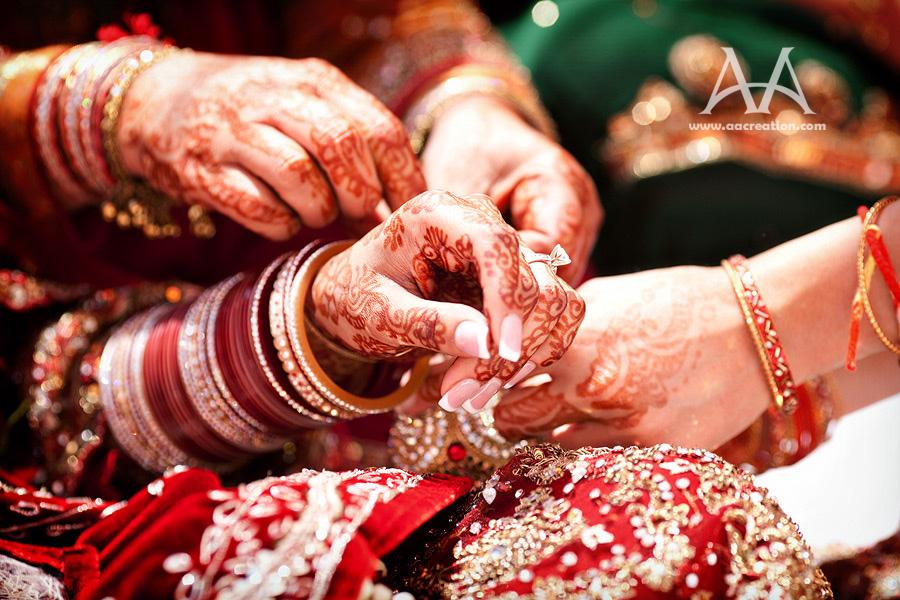 Punjabi Sikh Wedding Couple