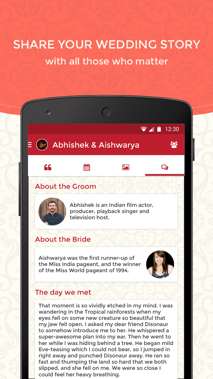Wedding planner app, Novel Concept that may just work