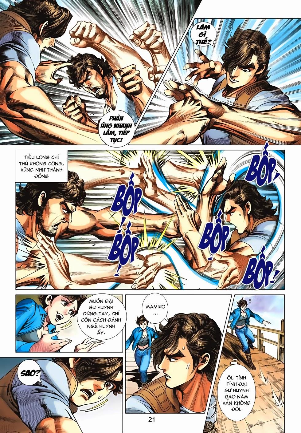 Tân Tác Long Hổ Môn chap 626 - Trang 21