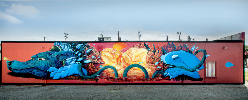 The San Jose Blog New Mural Called Little Moment In Japantown