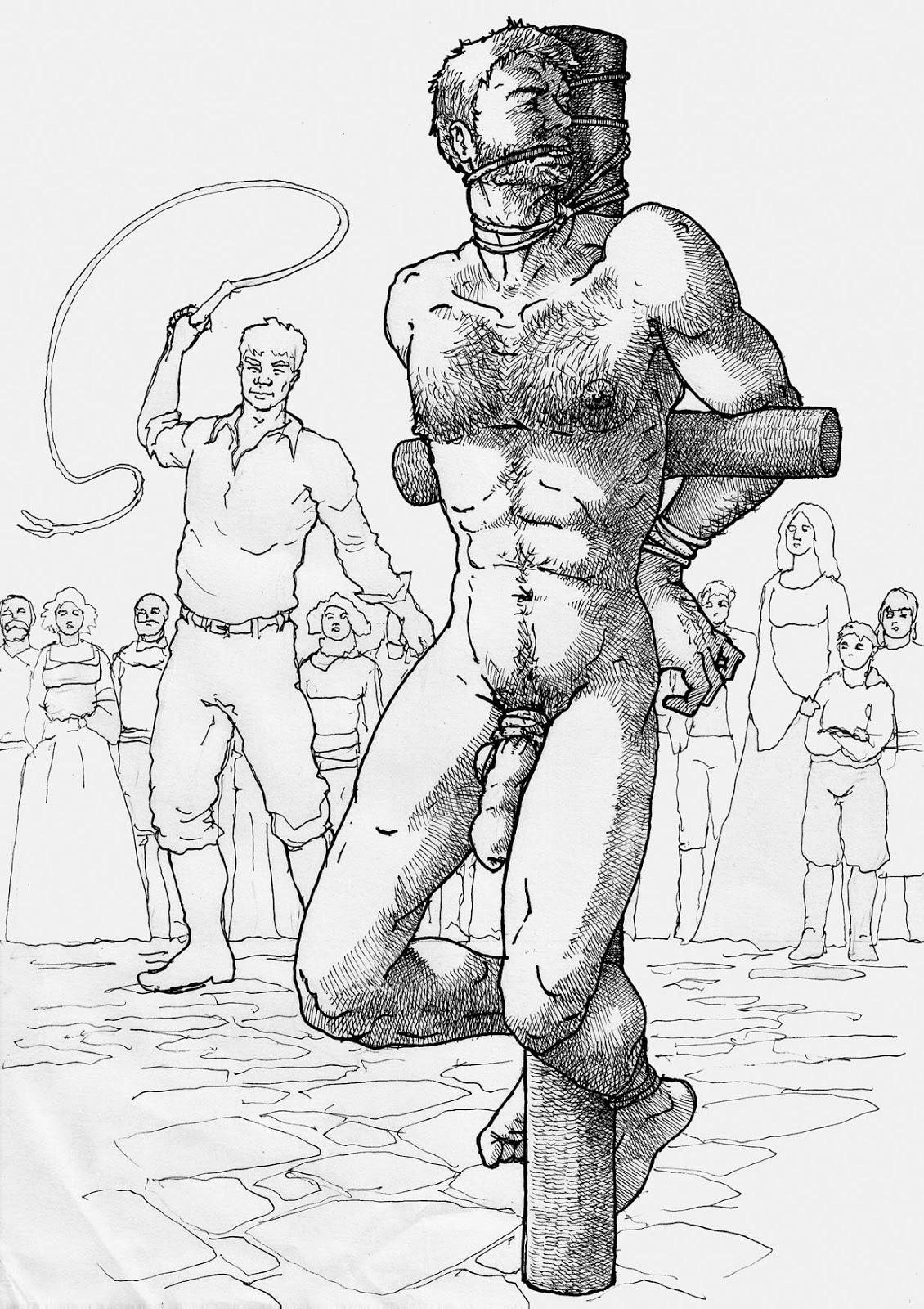 Male snuff erotic art