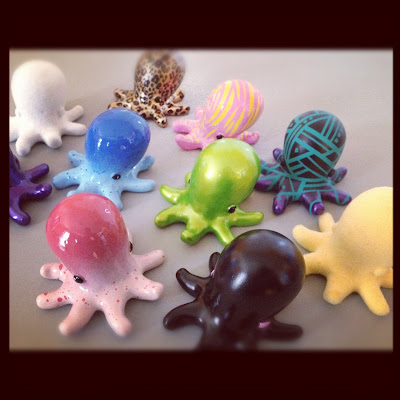 Octo Resin Figure Kickstarter Project by Etc.