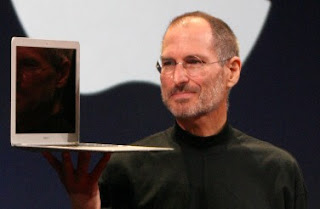 steve jobs, laptop computers, macbook air