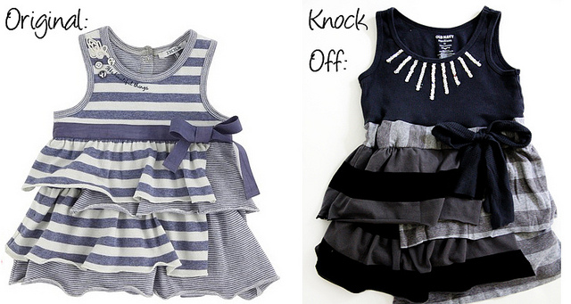 IKKS dress knockoff sewing tutorial