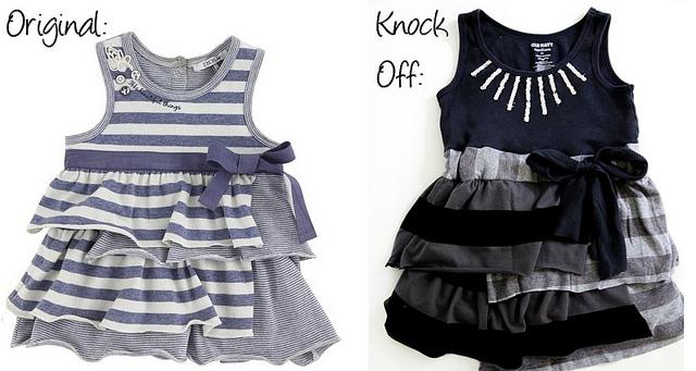 IKKS dress knockoff sewing tutorial