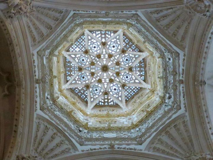 Bóveda estrellada del cimborrio de la catedral de Burgos