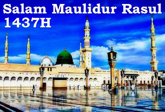 Salam Maulidur Rasul 1437H - 2015M
