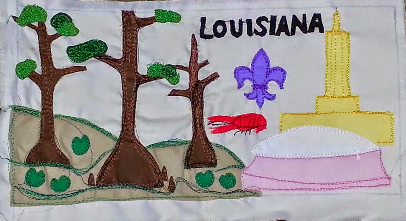 AMB Louisiana License Plate