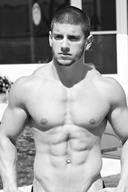 Sexy Black and White Hot Guys Set