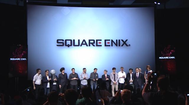 Square Enix E3 2015 conference cast crew staff photo-op