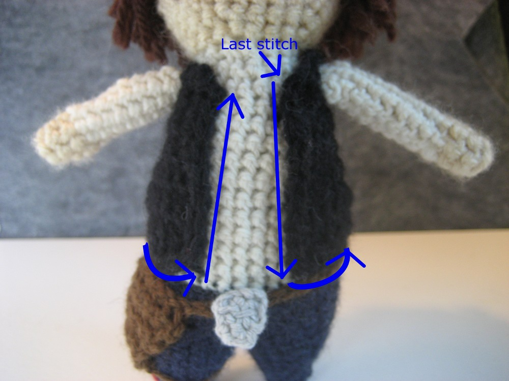 Geek Central Station Han Solo Free Pattern