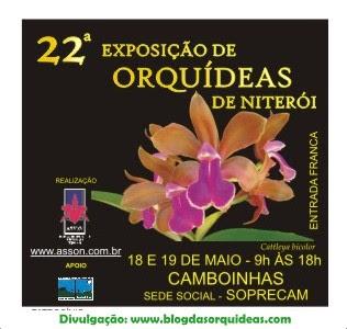 Exposição de Orquídeas de Niterói - RJ