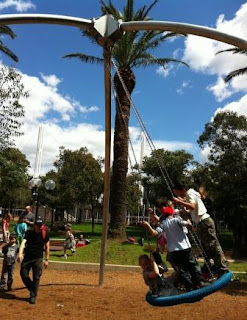Darling Quarter - Jumbo Swing