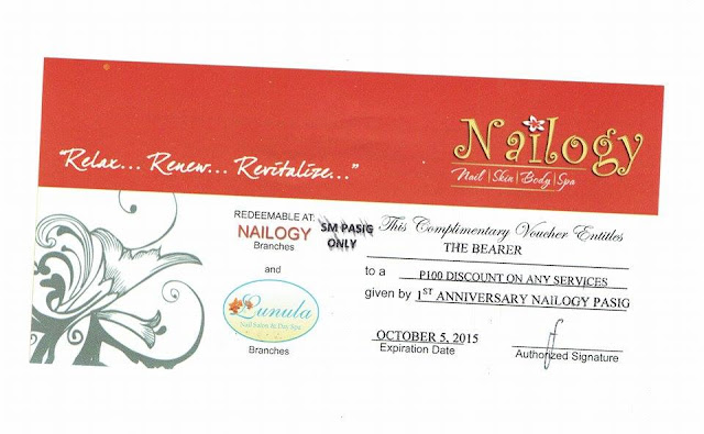 nailogy lunula discount voucher, 100 gc,