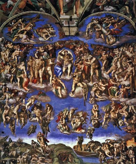 Art Talk - Michelangelo: Dommedag, 1541