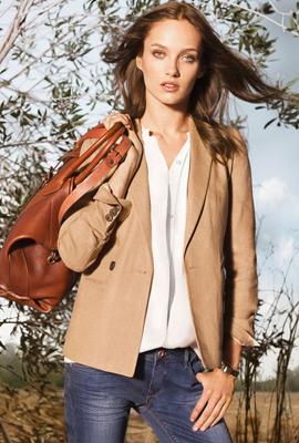 Massimo Dutti primavera 2013 moda mujer chaqueta