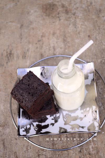 Brownies Kukus Ketan Hitam