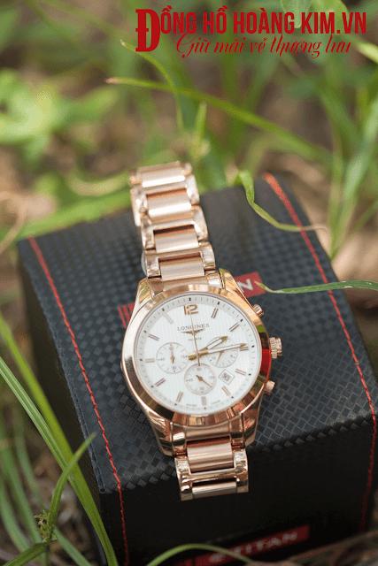 Đồng hồ nam chính hãng tại Cầu Giấy nhãn hàng Longines L164