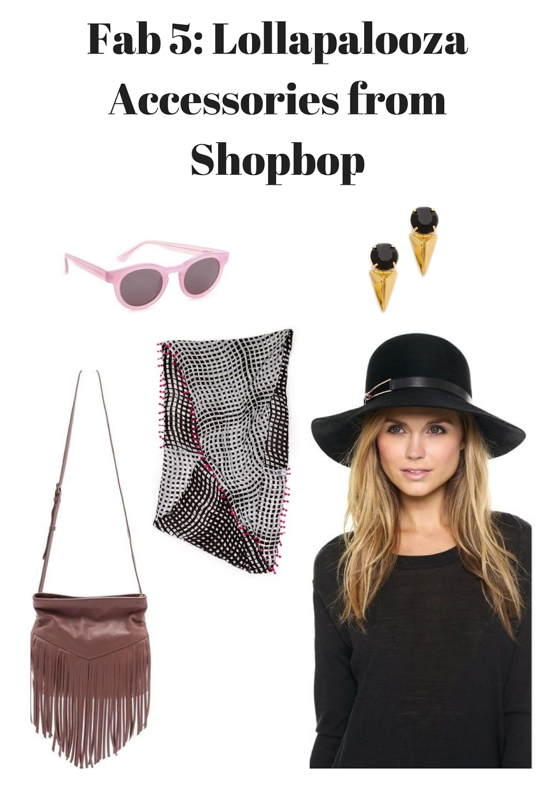 Shopbop - Lollapalooza - Accessories