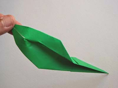 Projects Art And Craft Easy Origami Lily Leaf