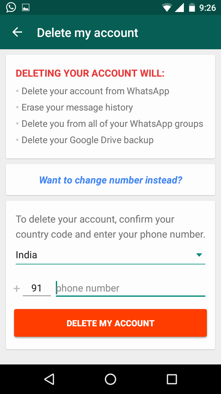 How to unlock facebook account with phone number