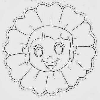 máscara flor flower mask